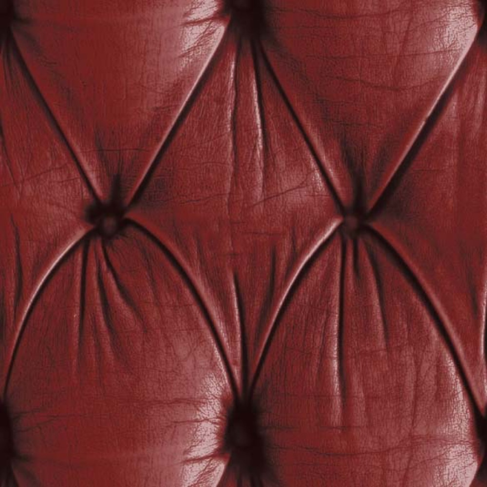 Chesterfield Wallpaper Red close