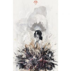 A4 Giclee reproduction print by Rachel Lee entitled Phobia 1 sold by Curious Egg