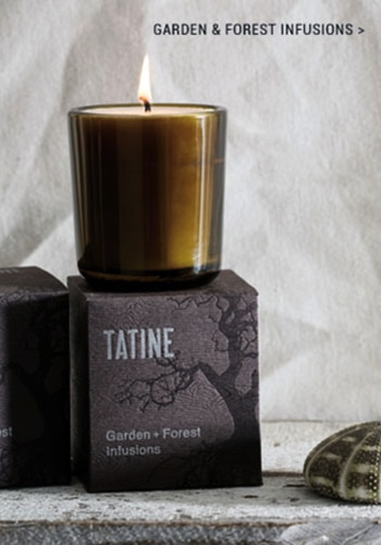 Tatine candle and packaging box