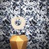 Machair Wallpaper by Feathr in Ink Drops colour