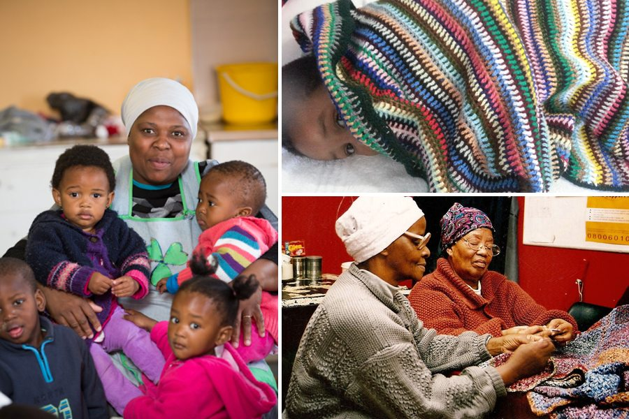 families from the Cape Flats benefiting from Inigo Scout blanket sales