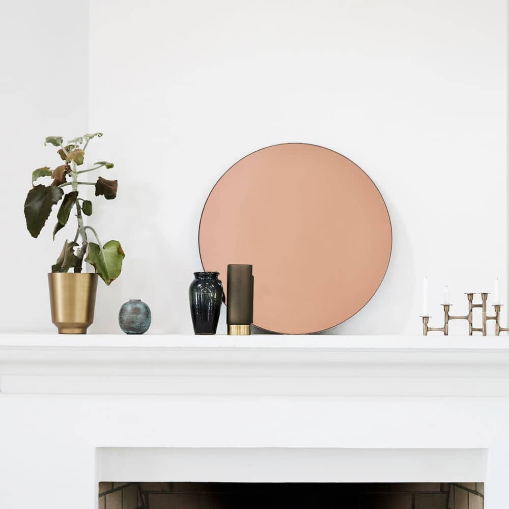 Sun Mirror Rose Gold lifestyle for web Curious Egg