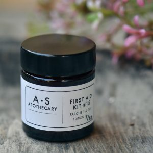 AS Aptohecray Parched and Dryorganic skincare therapeutic balm with flowers