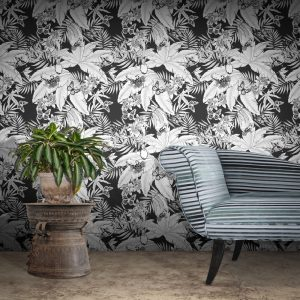 Monochrome Jungle wallpaper by Feathr lifestyle image