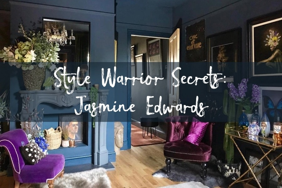 style warrior eclectic living room Jasmine Edwards