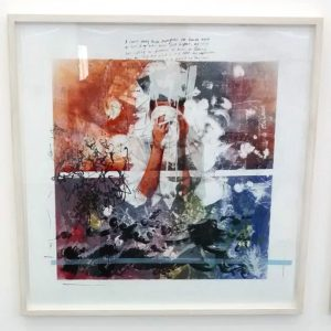 digital print & Lithography in layers on board.