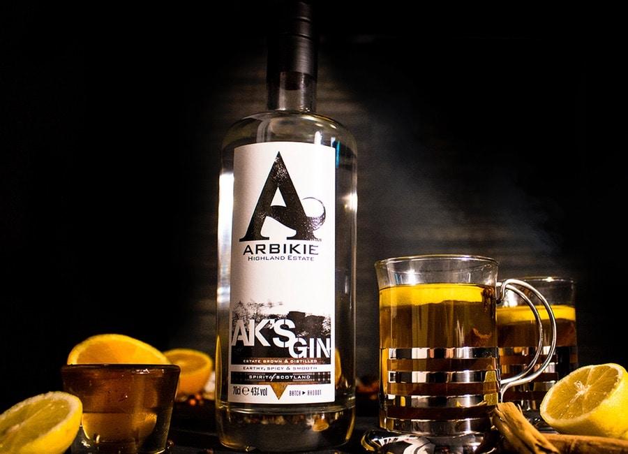 Festive Gin Cocktail - Arbikie AK's by the Fire
