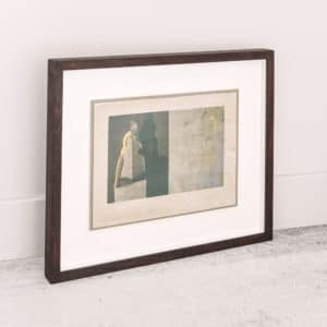 Alice Hughes - Stage for Beauty in Gold - Framed Original Screenprint - exclusively available at Curious Egg
