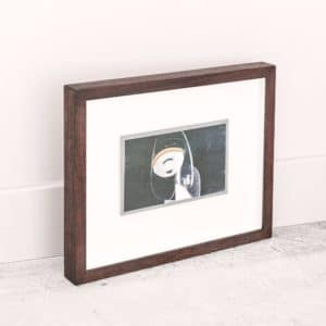 Alice Hughes - Stage for Elegance #3 - Framed Origina Screen Print - Exclusively Available at Curious Egg