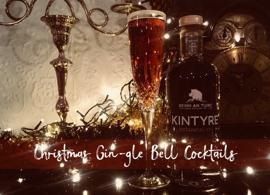 Christmas gin cocktail blog post by Curious Egg