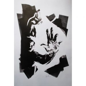 Original Artwork by Kane McLay - Reach - exclusively available at Curious Egg
