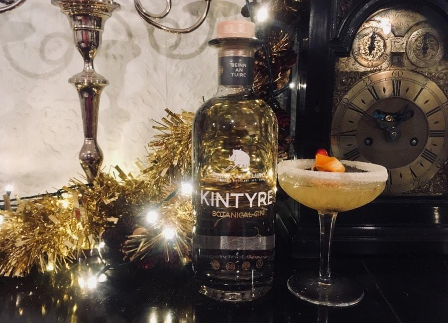 Festive Gin Cocktail - Kintyre Christingle