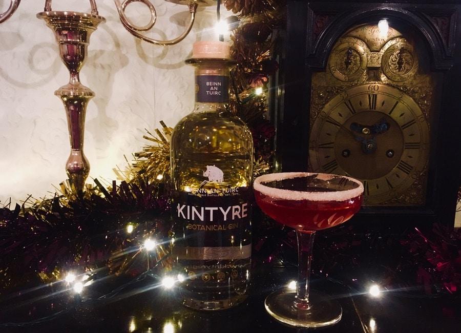 Festive Gin Cocktail - Kintyre Gin Slingle Bells