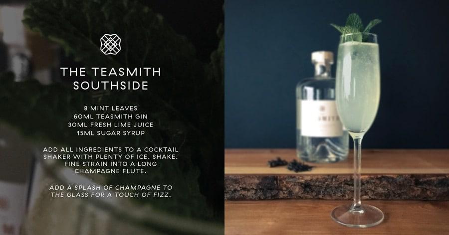 The Teasmith Gin cocktail