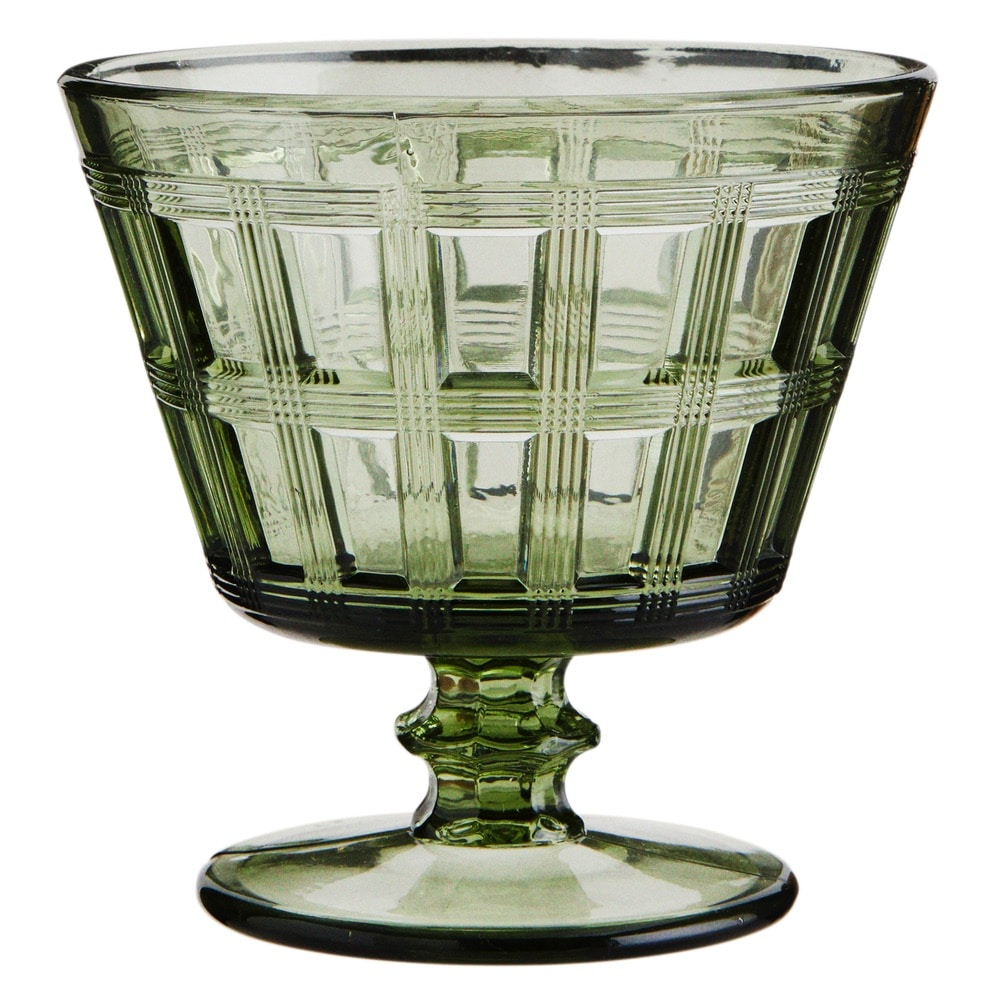 Deco Cocktail Glass – Verdant Green – Cutout for Web