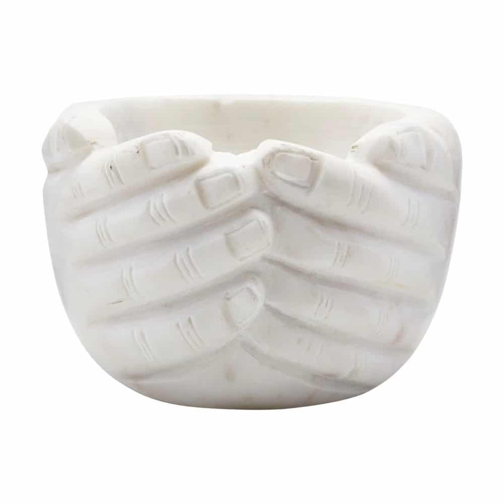 Hands-Sculpted-Marble-Bowl