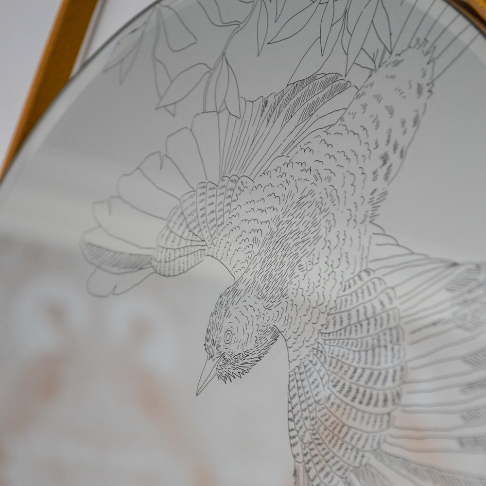 Daniel-Heath-Swooping-Jay-Mirror-Etching-Detail-for-Web-Curious-Egg