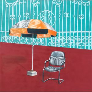 Abi Baikie - Original Artwork - Waiting  - exclusively available at Curious Egg