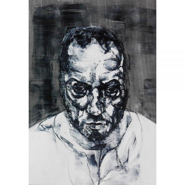 Kane McLay - Framed Original Artwork - Head 1 - exclusively available at Curious Egg