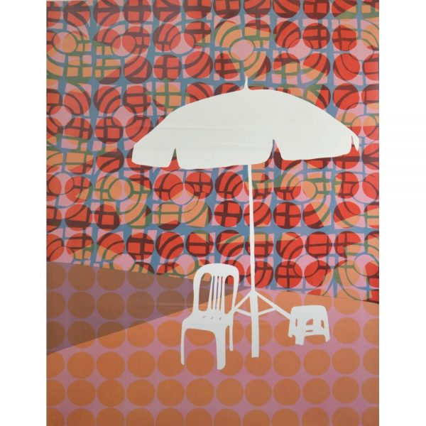 Abi Baikie - Original Artwork - In the Shade Print 1 - exclusively available at Curious Egg