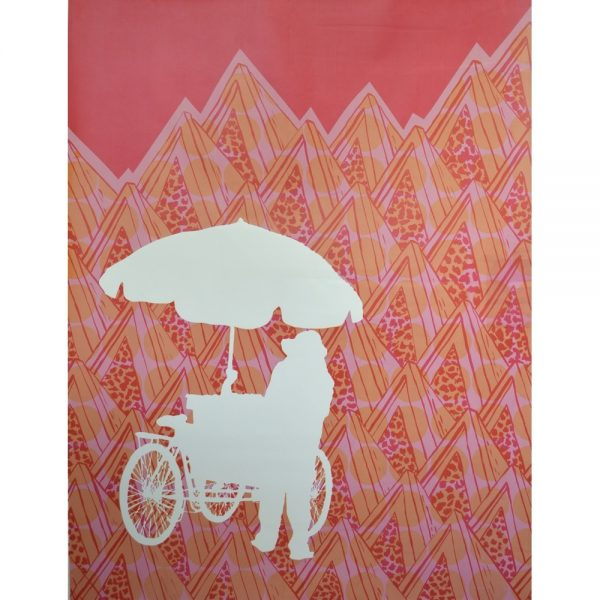 Abi Baikie - Original Artwork - Street Vendor Print 2 - exclusively available at Curious Egg