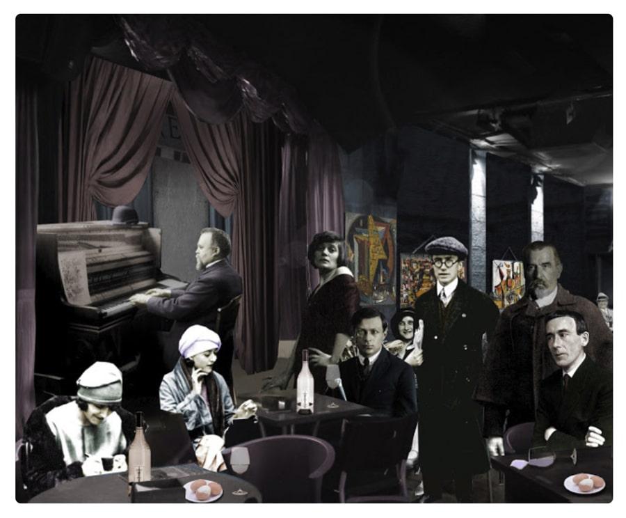 dadaism cabaret voltaire