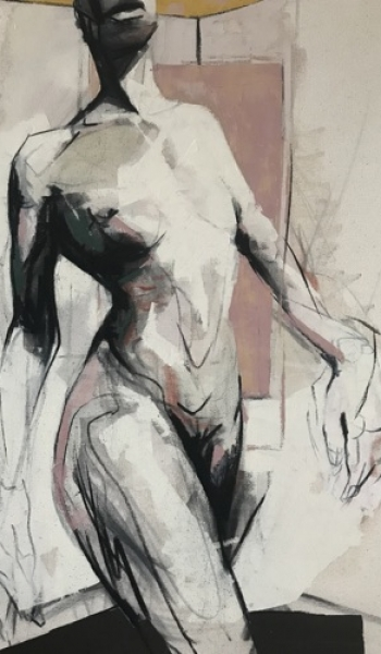 Figure #4 by Kane McLay original painting on canvas