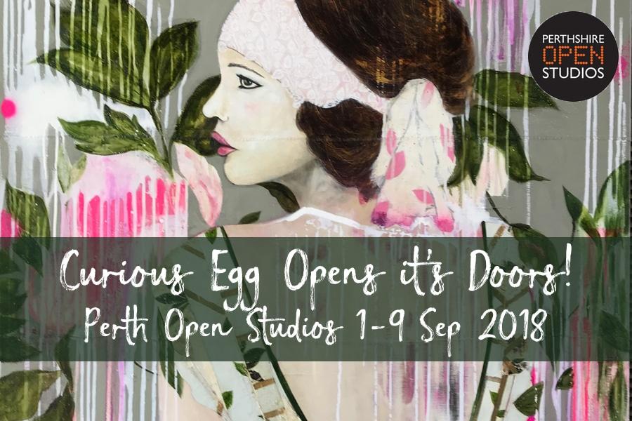 Curious Egg Opens its doors for Perth Open Studios 2018