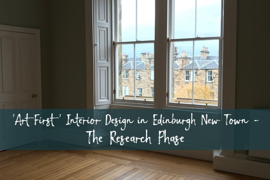 'Art First' Interior Design - The Research Phase