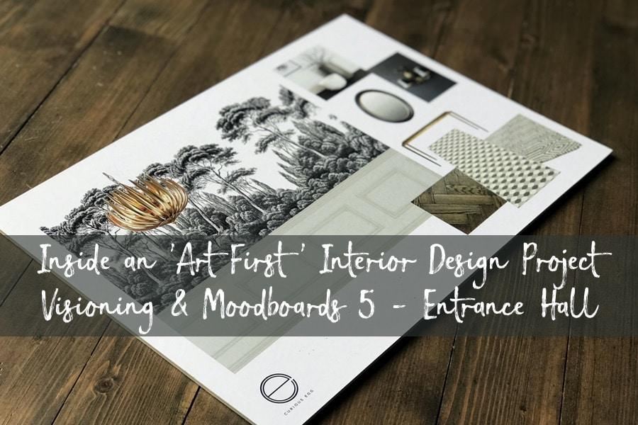 'Art First' Interior Design - Visioning & Moodboards 5
