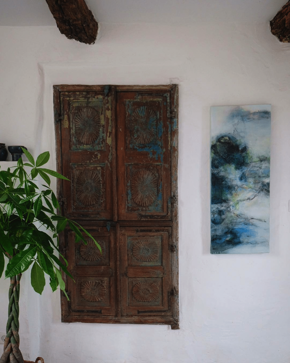 antique indian reclaimed doors