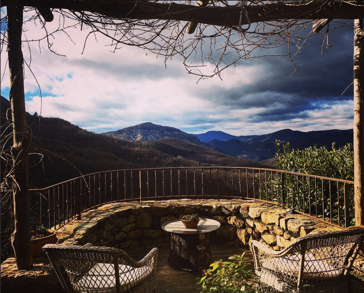 vista over the Cevennes valley