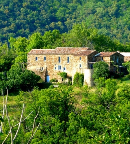 beautiful french farm house in the Cevennes