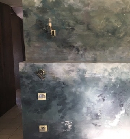 painted wall finish