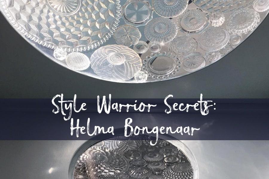 Helma Bongenaar decorative plate window