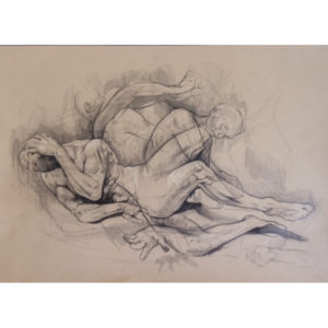 Original Etching by Kane McLay - 'Cycles'