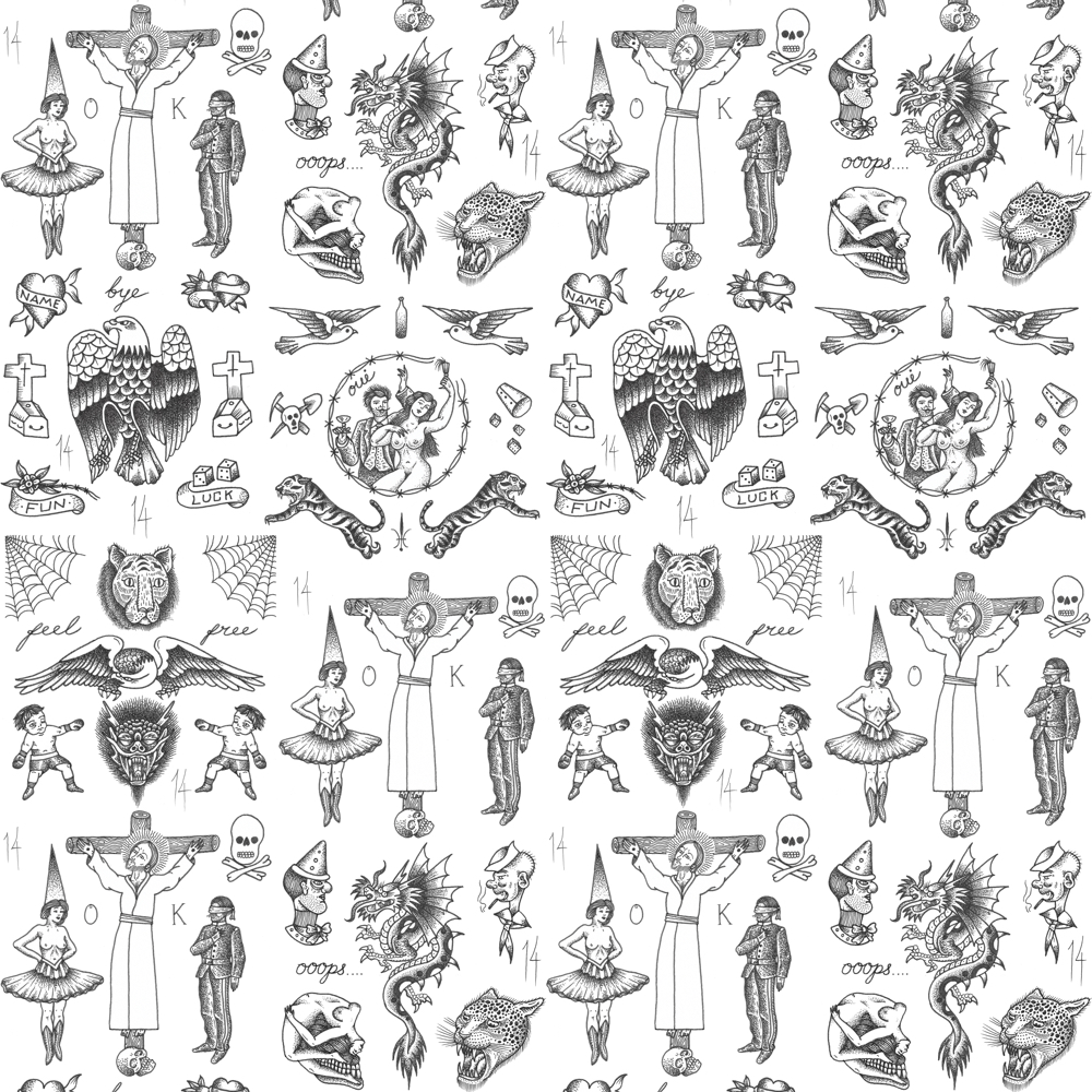 Tattoo Flash Wallpaper By Feathr Curiousegg Fancy wallpaper with tattoos choose not only the stronger sex, and more women set photo wallpaper with tattoos on her desk. tattoo flash wallpaper by feathr curiousegg