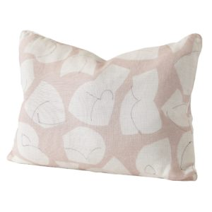 Stoff Studios No1 Cushion PlasterPink cutout image with white background.