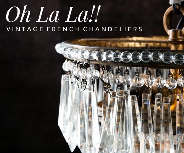 Curious Egg Vintage French Chandeliers