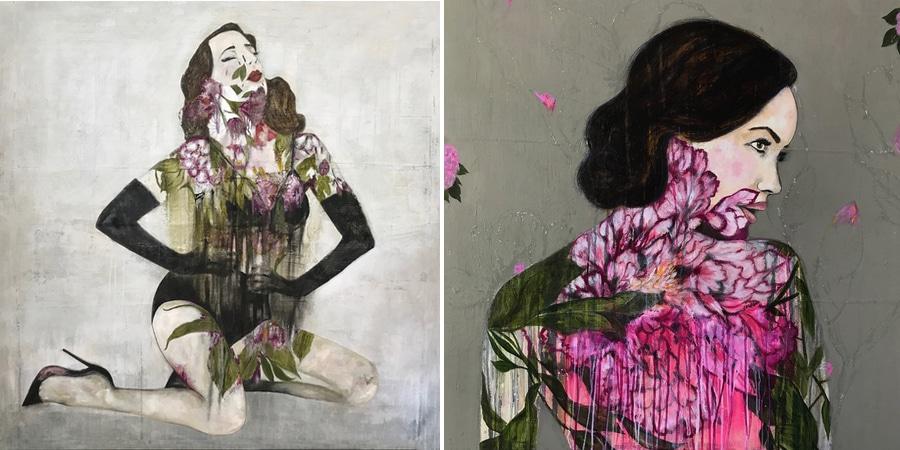 paitnings by Karenina Fabrizzi
