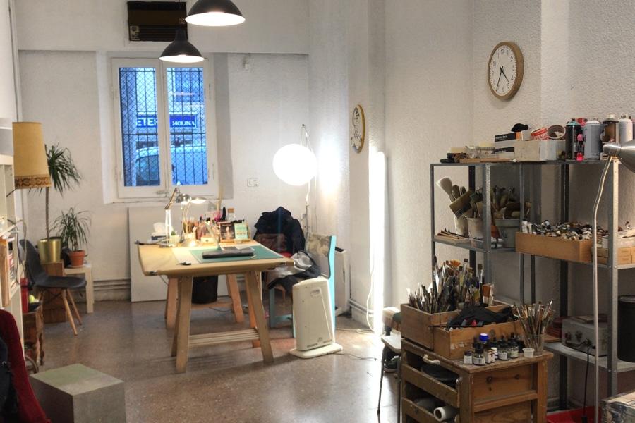 another voew of Karenina's studio