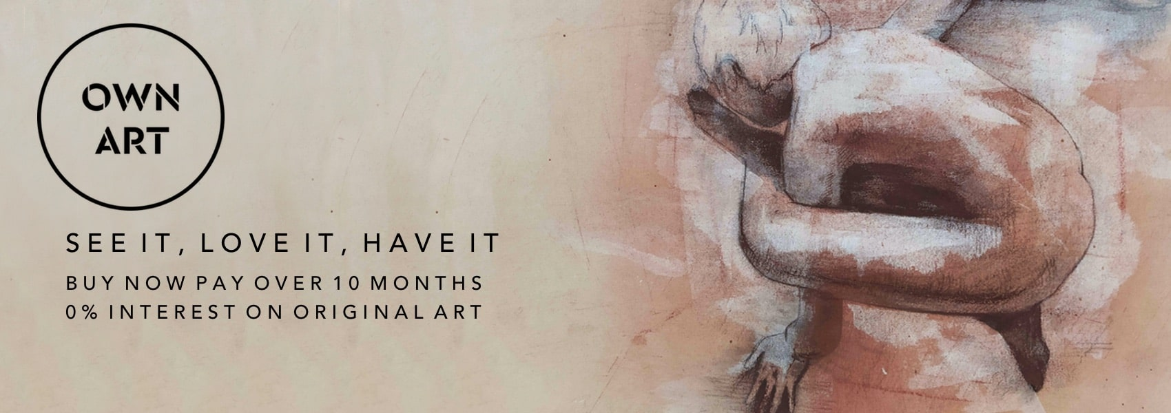 See It, Love It, Have It.  Own Art.  0% Finance on Original Art Purchases at Curious Egg.