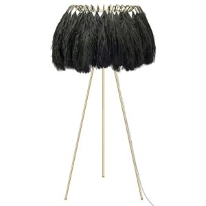 Black Feather Floor Lamp by Young & Battaglia - at Curious Egg