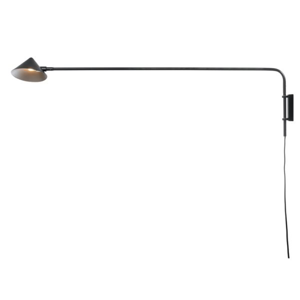 Curious Egg Capella Wall lamp - Long - in Black Colour