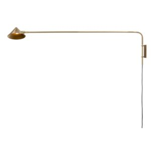 Curious Egg Capella Wall lamp - Long - in Gold Colour