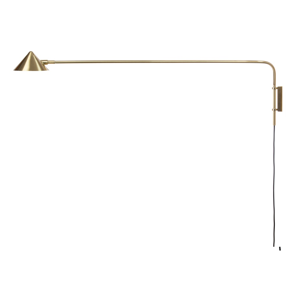 Cappello Gold Wall Lamp - Long