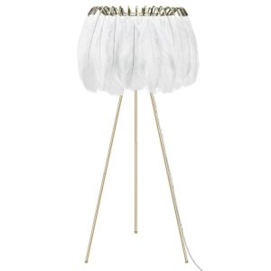 White Feather Floor Lamp by Young & Battaglia - at Curious Eg