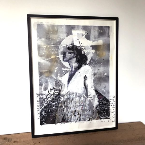 Rachel Lee - Framed Original Artwork - Ethereal #2 - exclusively available at Curious Egg