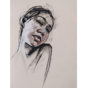 original drawing in pastel and charcoal by Kane McLay at Curious Egg