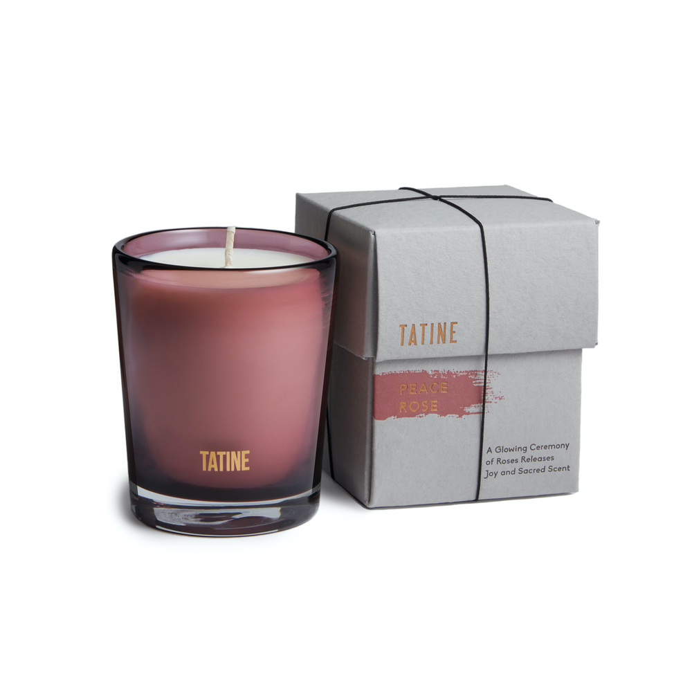 Peace Rose Limited Edition Candle by Tatine